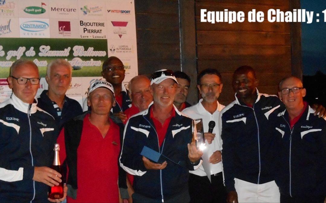 Promo seniors : Chailly accède à la 4ème division nationale.