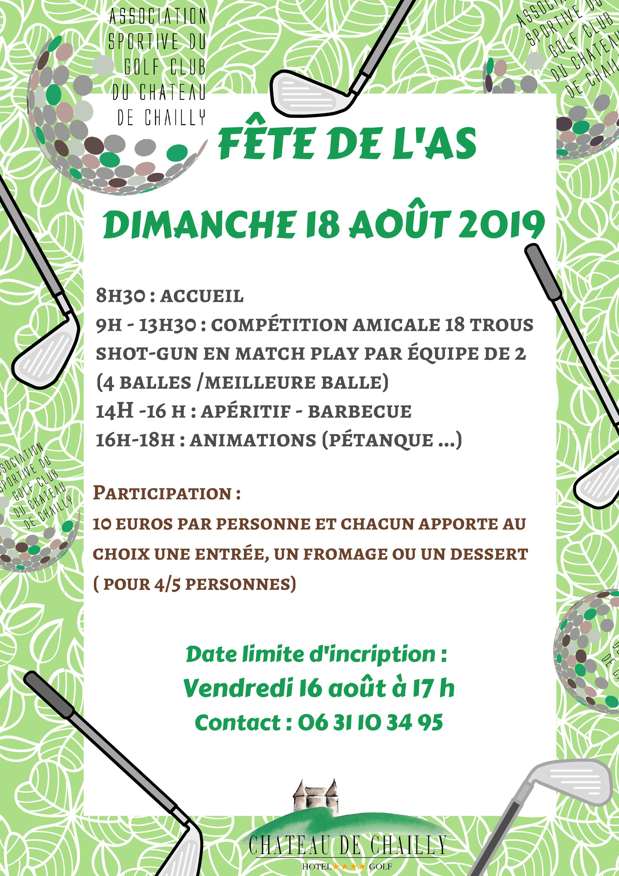 FETE DE L'AS – 18 AOUT 2019