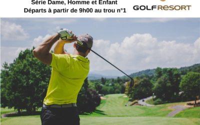 Les départs – Compétition Golf – DIM 9 MAI 2021