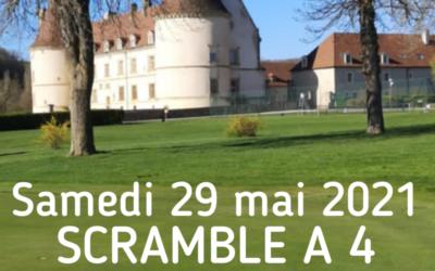 Compétition AS – Scramble à 4 – SAM 29 MAI 2021