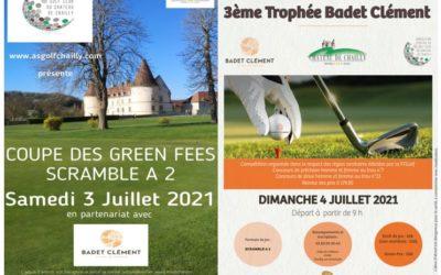 Compétitions AS et Badet Clément – 3 et 4 Juillet 2021 – Double Scramble à 2