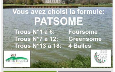 Départs PATSOME – Dimanche 24 Octobre